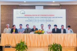 LINA Netwwork ký kết hợp tác với các tập đoàn Nhật Bản triển khai ứng dụng Blockchain trong Fintech