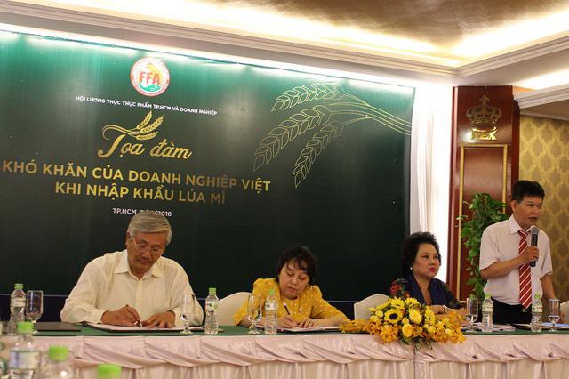Buổi tọa đàm về Khó khăn của doanh nghiệp Việt khi nhập khẩu lúa mì diễn ra tại TPHCM