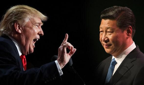 Trung Quốc sẽ là nước chịu tổn thất nặng nề hơn trong cuộc chiến tranh thương mại với Mỹ. (Nguồn: Daily Express)