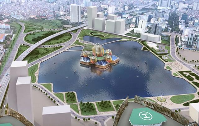 Hà Nội thống nhất bỏ kế hoạch xây dựng nhà hát hoa sen
