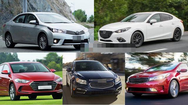 Lượng bán sedan tăng nhanh vì dân Việt