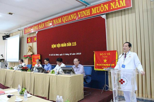 BS Phan Văn Báu, Giám đốc Bệnh viện Nhân dân 115 xin được tự chủ theo mô hình doanh nghiệp