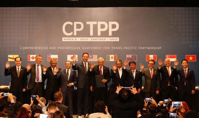 11 quốc gia thành viên ký kết CPTPP ngày 8/3. (Ảnh: Reuters)