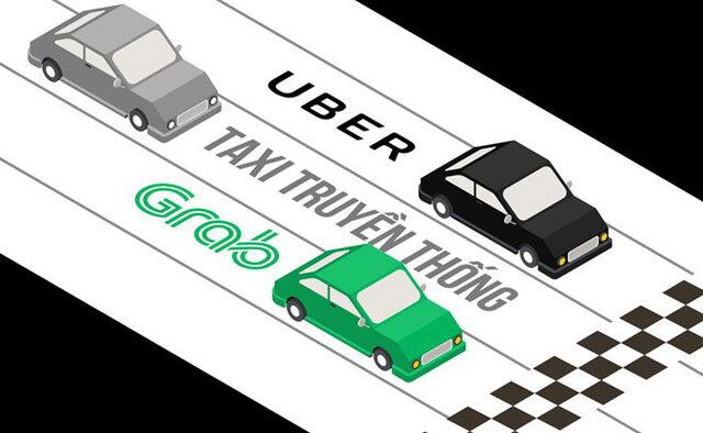 Kiến nghị xe Grab gắn mào như taxi truyền thống: Gom lại để quản cho… công bằng?