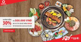 Thưởng thức ẩm thực châu Á dịp 20/10 và nhận hoàn tiền 500 nghìn từ Maritime Bank