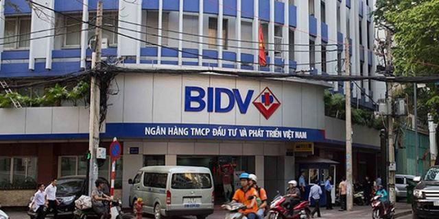 Một chi nhánh giao dịch của BIDV (Ảnh minh họa)