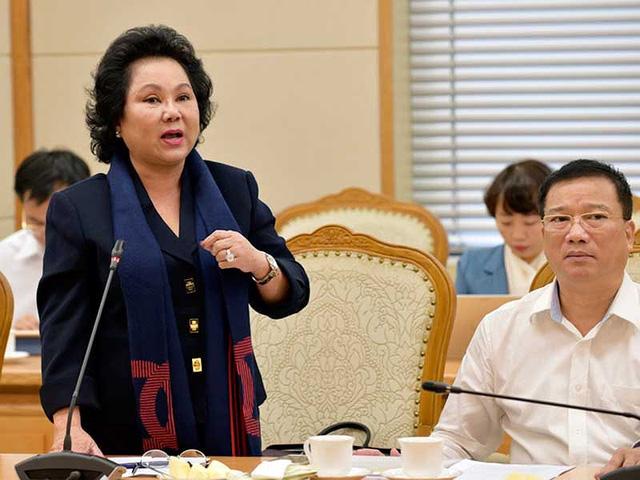 """Bà Lý Kim Chi, Chủ tịch Hội LTTP TP.HCM: """"Các DN đã ký kết hợp đồng nhập khẩu lúa mì với nước ngoài như ngồi trên lửa"""". Ảnh: C.LUẬN"""