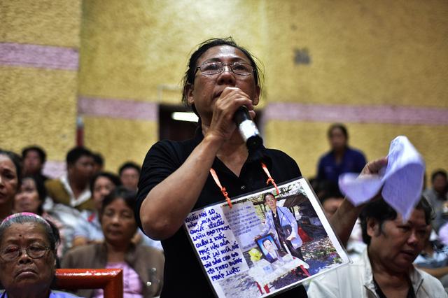 Cử tri Nguyễn Thị Kim Phượng mong muốn được trở về nơi ở cũ