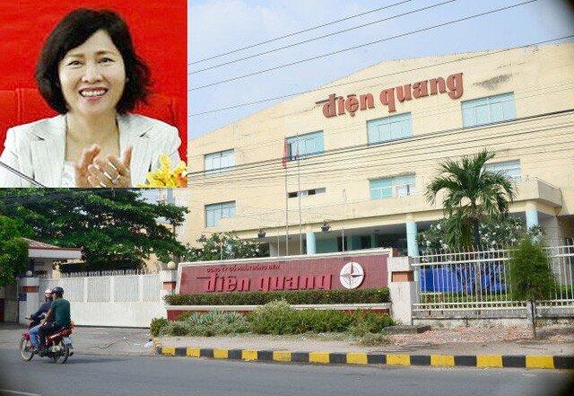 Cần tiền, bà Hồ Thị Kim Thoa thoái gần hết cổ phần tại Điện Quang