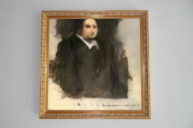 """Đại gia chi 10 tỷ đồng để mua bức tranh do... """"trí tuệ nhân tạo"""" vẽ"""