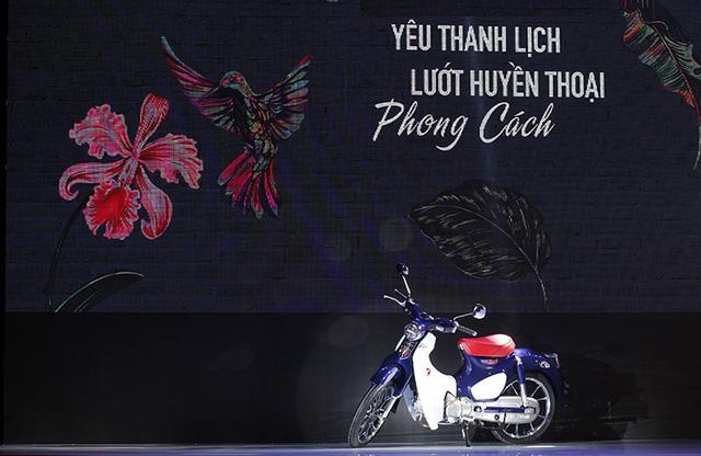 Giống như tại Thái Lan, mẫu Super Cub C125 tại Việt Nam được trang bị phanh đĩa trước