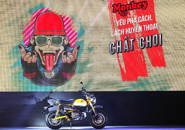 Honda Monkey 125 dùng phanh đĩa cả trước/sau