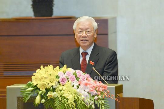 Tổng Bí thư, Chủ tịch nước Nguyễn Phú Trọng - Ảnh: Quochoi.vn.