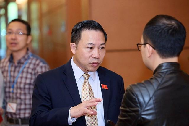 Đại biểu Lưu Bình Nhưỡng (ảnh: Như Phúc)