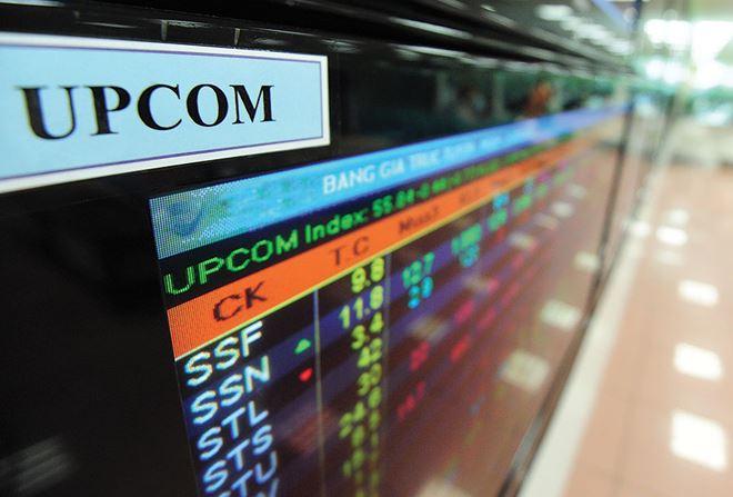 379 tỷ đồng cổ phiếu trao tay mỗi phiên trên UPCoM trong tháng 10