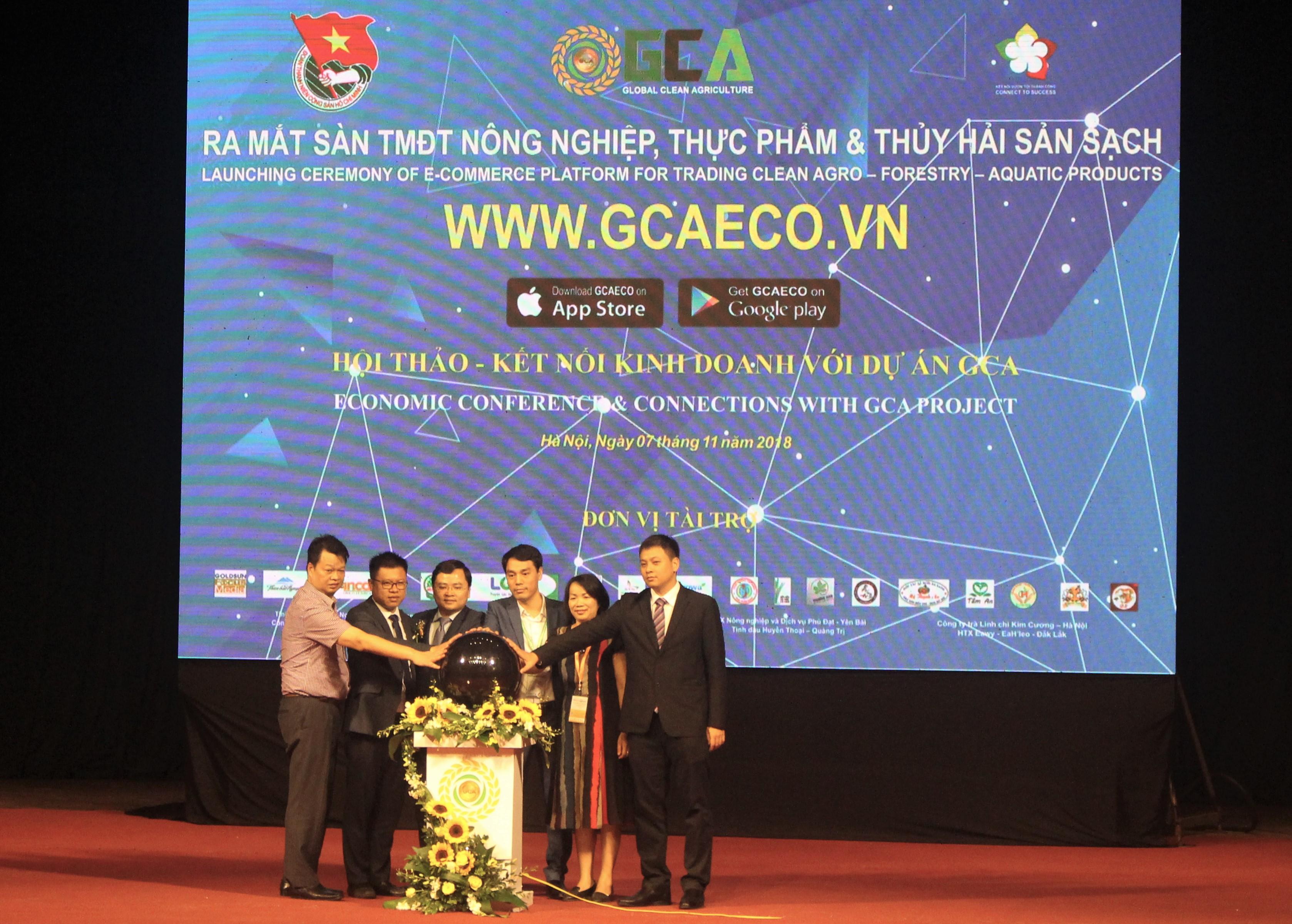 Ra mắt chợ online uy tín cho nông sản Việt