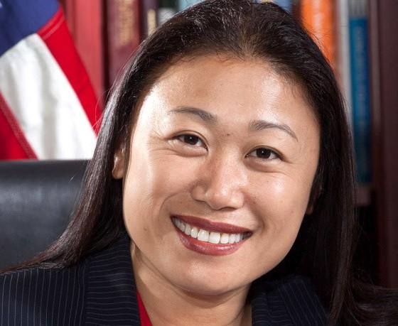 Bà Janet Nguyễn đã tái đắc cử Thượng nghị sĩ bang California (Ảnh: Ocregister)