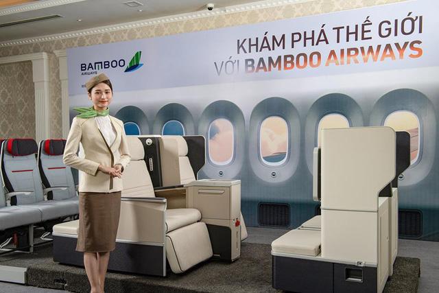 Bộ ghế Aura Enhanced thuộc tập đoàn Zodiac Aerospace đang được Bamboo Airways xem xét lựa chọn cho hạng ghế thương gia.