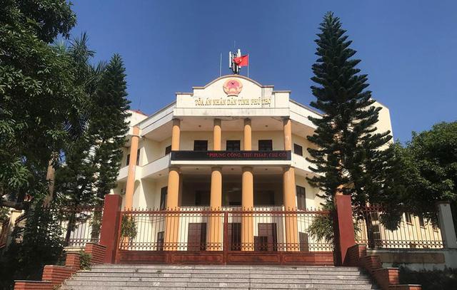 TAND tỉnh Phú Thọ - nơi xét xử vụ án đánh bạc nghìn tỷ vào ngày 12/11.