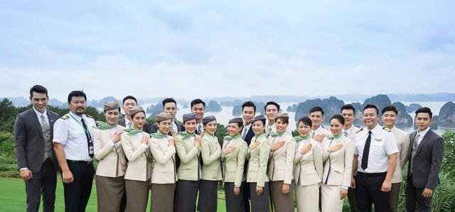 Hình ảnh về các tiếp viên khoá đầu tiên của Bamboo Airways