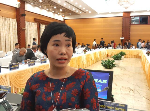 Bà Ngô Thúy Quỳnh, Phó Vụ trưởng Vụ Dầu khí và Than, Bộ Công Thương
