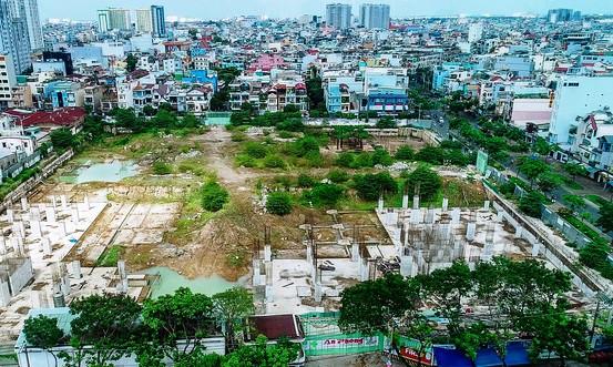 """Dự án Centa Park là dự án nằm tại vị trí """"vàng"""" của quận Tân Bình với 4 mặt tiền."""
