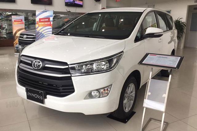 Mẫu MPV Toyota Innova tăng giá thêm 20 - 40 triệu đồng.