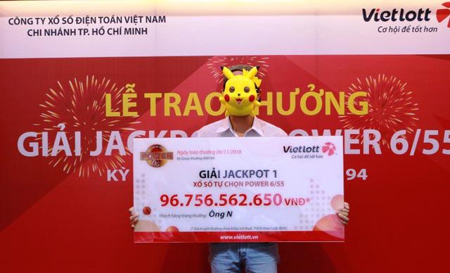 Sau tấm vé số trúng gần 97 tỷ đồng lại có vé trúng hơn 41 tỷ đồng