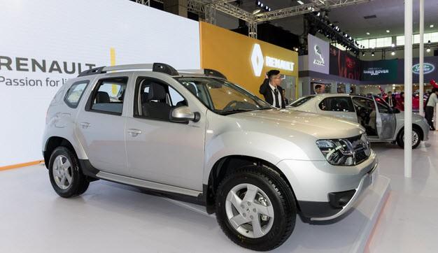 Mẫu xe Renault tại khi được phân phối chính thức tại Việt Nam