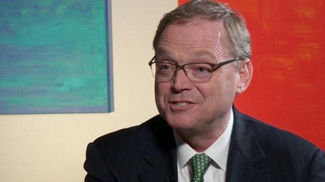 Chủ tịch Hội đồng Cố vấn kinh tế của Tổng thống Mỹ Donald Trump, ông Kevin Hassett (Ảnh: BBC)