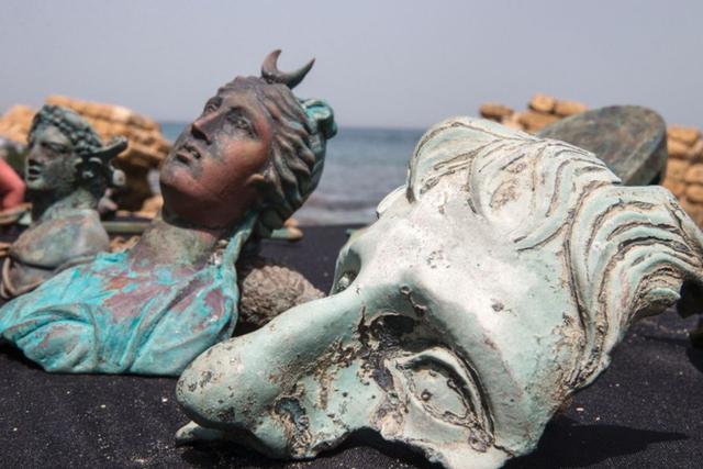 Bất ngờ phát hiện kho báu từ thời La Mã dưới đáy biển Địa Trung Hải