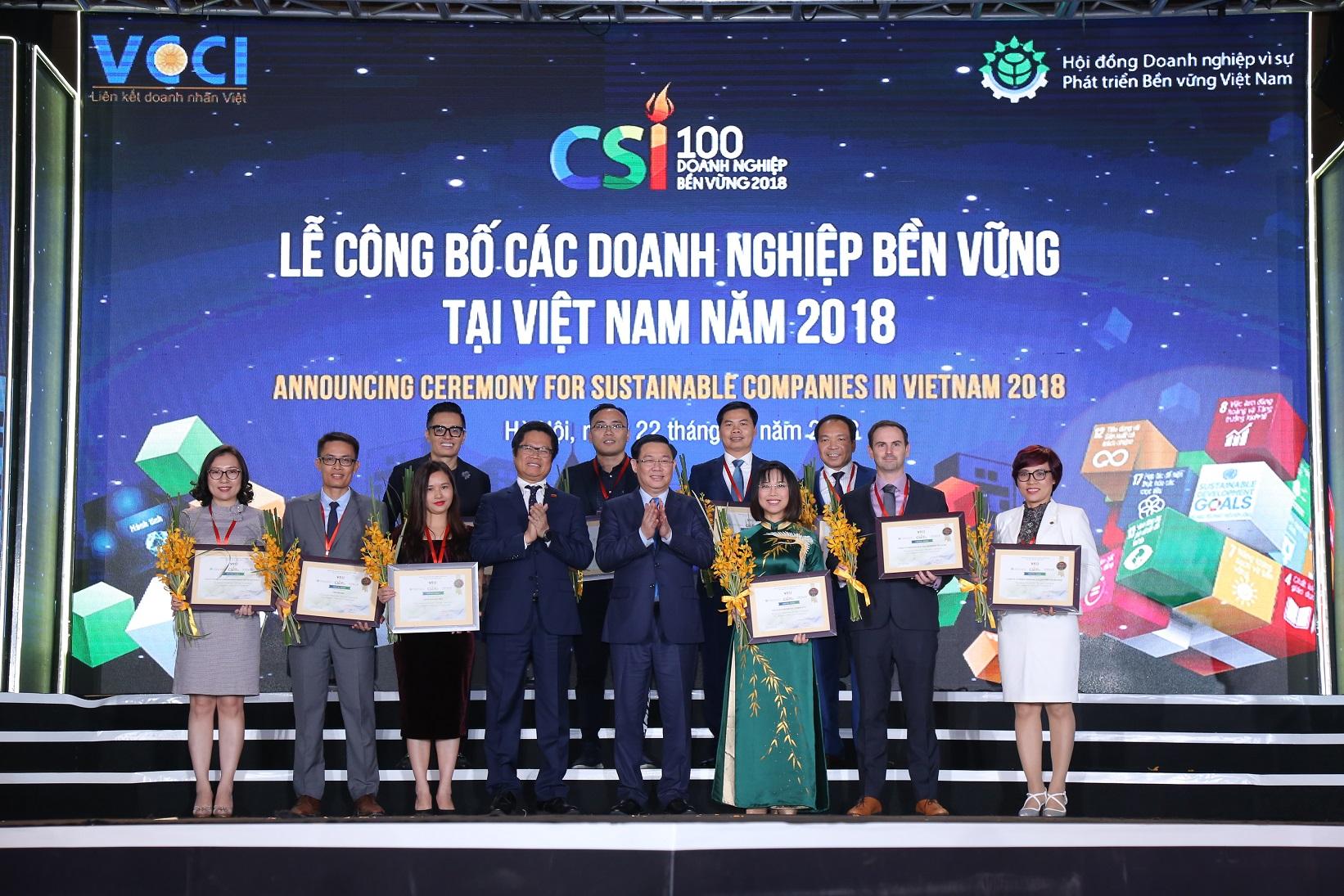 Doanh nghiệp bền vững cùng phát triển vì một Việt Nam thịnh vượng