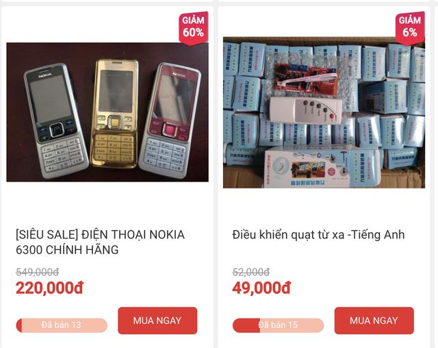 Hàng giả, hàng nhái vẫn xuất hiện nhiều trên các trang thương mại điện tử Việt Nam