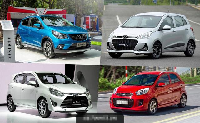 Các dòng xe nhỏ giá rẻ đang có doanh số bán rất cao tại Việt Nam, cuộc đua của các đại gia xe đang diễn ra ở phân khúc giá rẻ.
