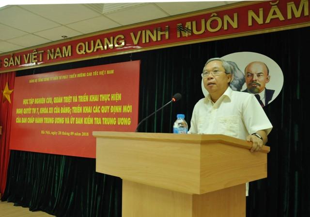 Ông Mai Tuấn Anh - Chủ tịch VEC.