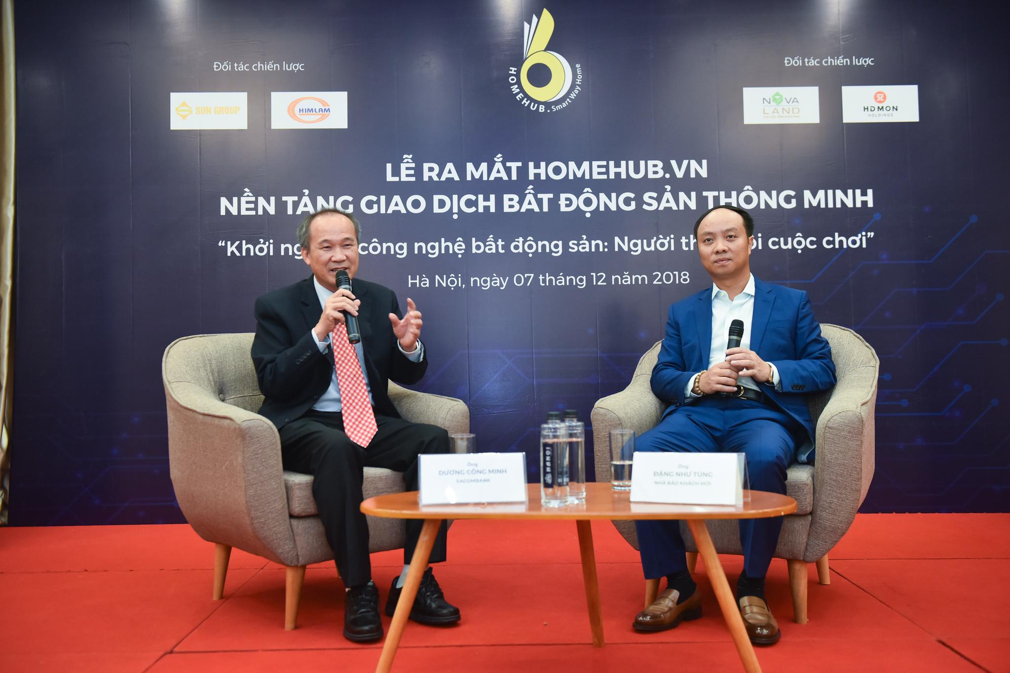 HomeHub.vn – nền tảng giao dịch bất động sản thông minh ra mắt