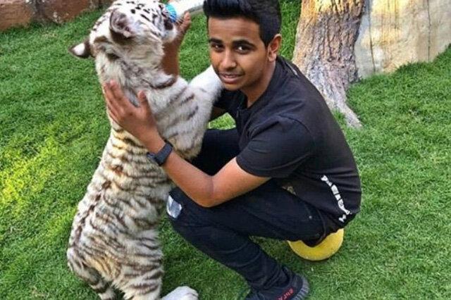 Choáng với con nhà giàu Dubai: 16 tuổi sở hữu sở thú riêng, tủ giày triệu USD