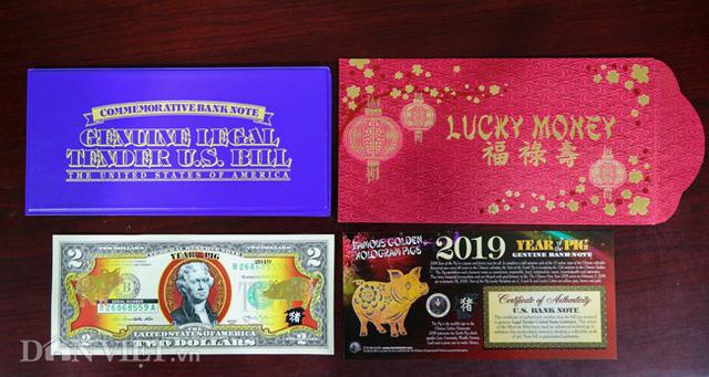 Tiền 2 USD in hình con heo đắt như tôm tươi trước Tết Kỷ Hợi 2019 - Ảnh 7.