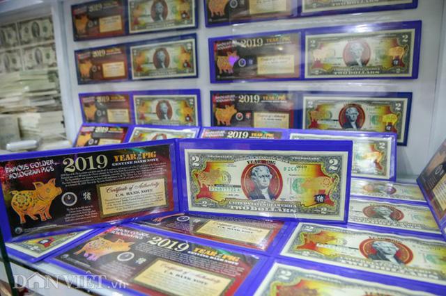 Tiền 2 USD in hình con heo đắt như tôm tươi trước Tết Kỷ Hợi 2019 - Ảnh 9.
