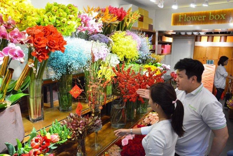 """Hoa """"độc"""", lạ ồ ạt về Sài Gòn phục vụ Tết"""