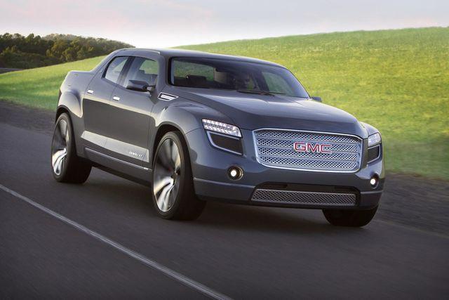 GM có thể sẽ tham gia cuộc chơi xe bán tải chạy điện - 1