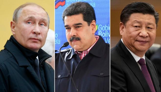 """Venezuela khủng khoảng, Nga - Trung có nguy cơ """"mất trắng"""" các khoản vay"""