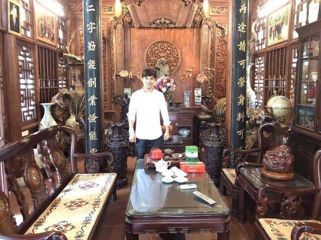 Biệt phủ gỗ 3D chục tỷ đồng: Nhà hoài cổ nét lạ của đại gia Việt - 3