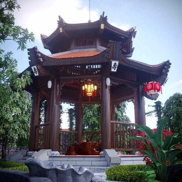 Biệt phủ gỗ 3D chục tỷ đồng: Nhà hoài cổ nét lạ của đại gia Việt - 5