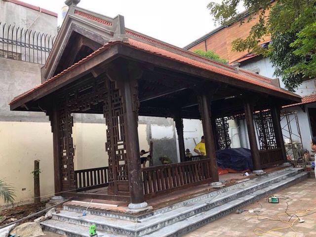 Biệt phủ gỗ 3D chục tỷ đồng: Nhà hoài cổ nét lạ của đại gia Việt - 6