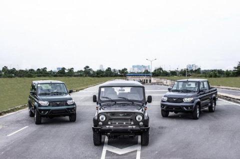 Xe Nga kết thúc giấc mơ trên đất Việt