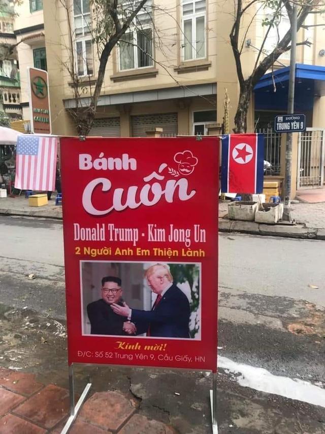 """Hàng bánh cuốn, quán nước... thu bộn nhờ """"ăn theo"""" Hội nghị thượng đỉnh Mỹ - Triều - 1"""