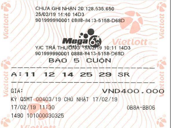Mua vé số có ngày sinh của con, số nhà, số xe và trúng gần 22 tỷ đồng