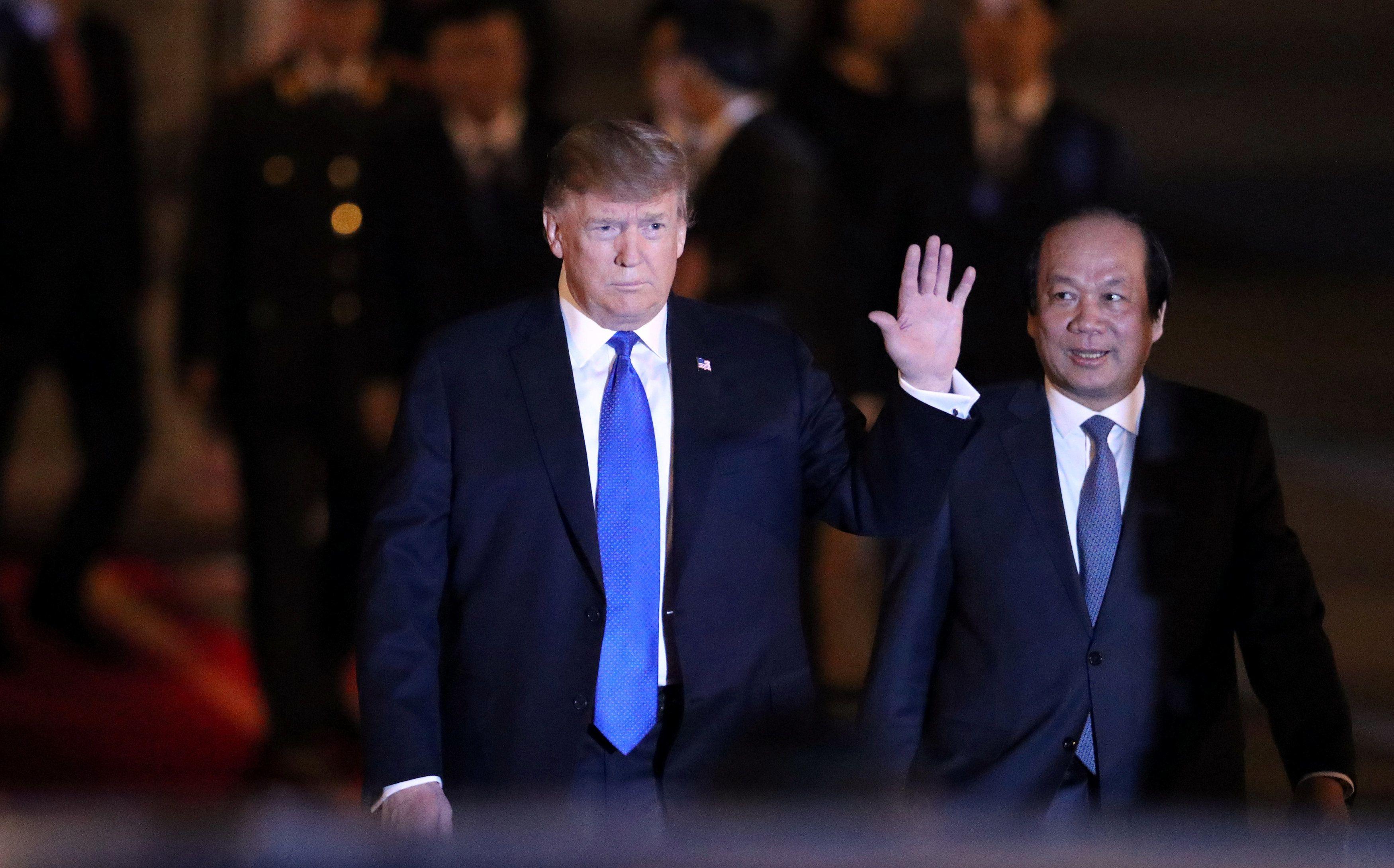 Tổng thống Trump ca ngợi ngợi Việt Nam đang phát triển mạnh mẽ