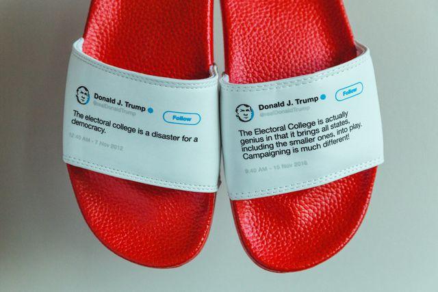 Bán hàng bá đạo: Dép in hình Twitter Tổng thống Trump, thu hàng chục tỷ - 11